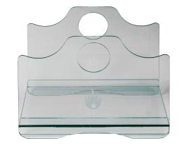 Glas Holzkorb Lienbacher
